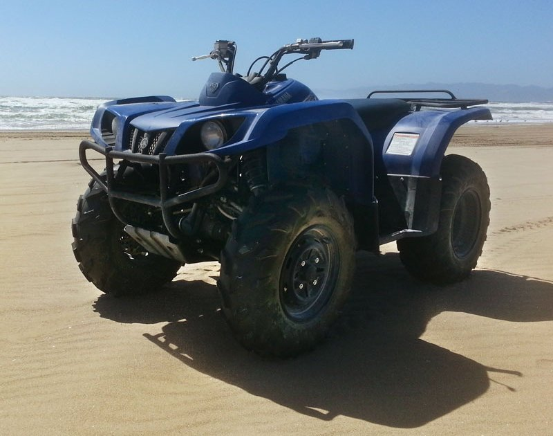 1 seat Yamaha 350cc 4x4 ATV