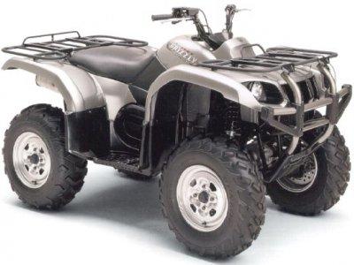 1 seat Yamaha 660cc 4x4 ATV