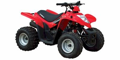 1 seat Kymco 90cc 2x4 ATV