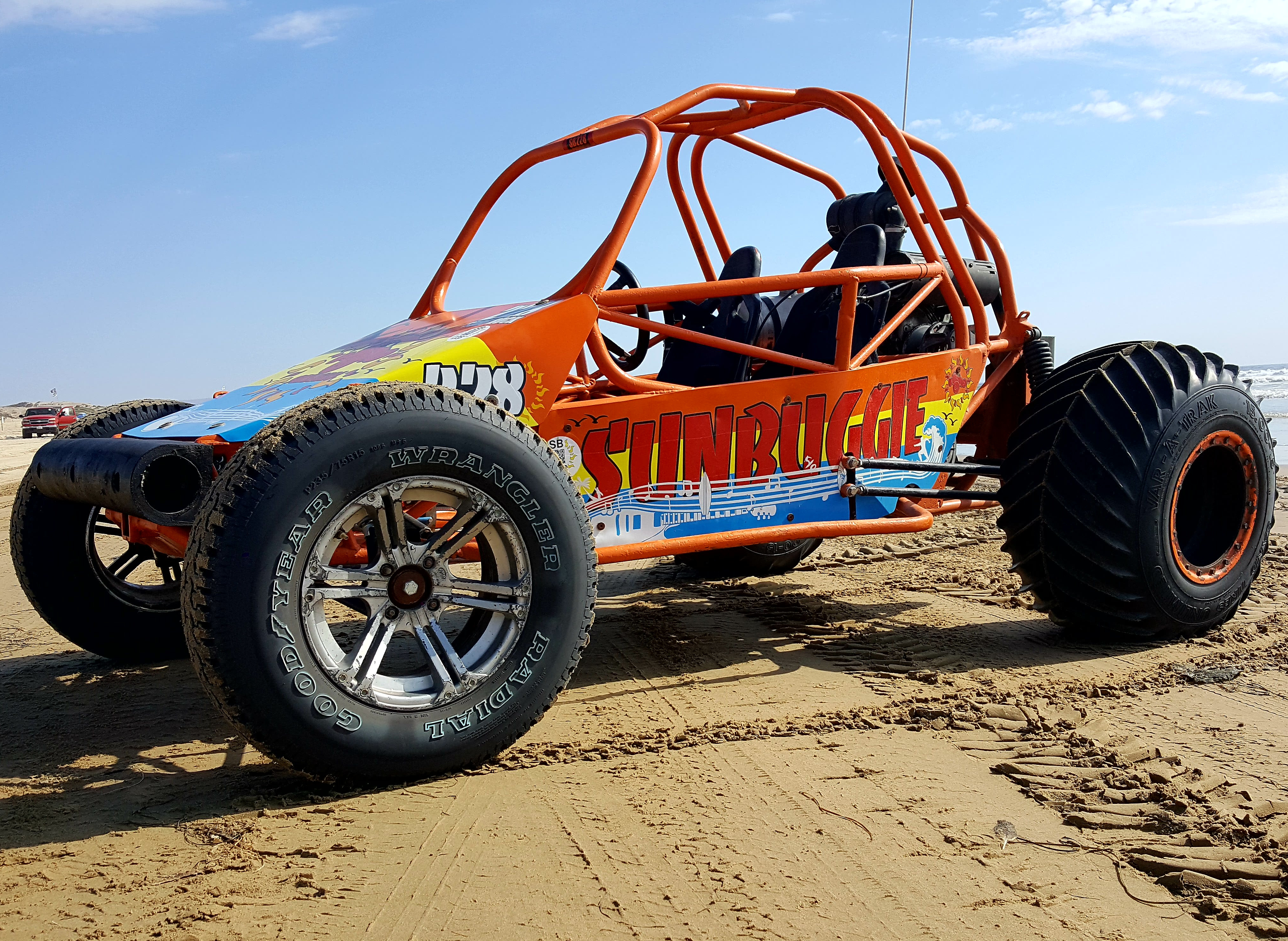 2 seat Prowler XP (eXtreme Paddles) Dune Buggy