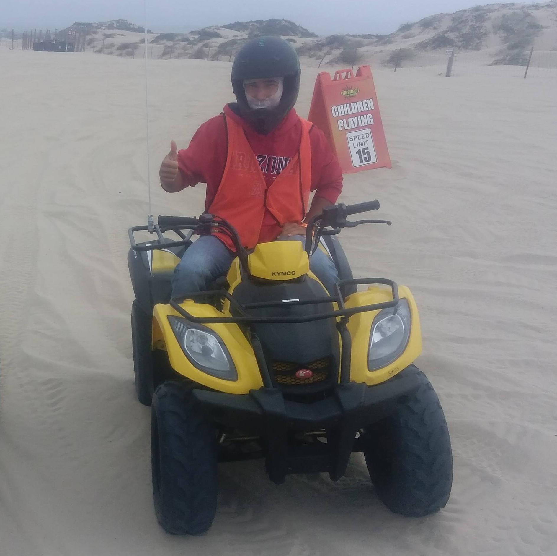 1 seat Kymco 150 2x4 ATV