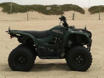 1 seat Grizzly Yamaha 350cc ATV 4x4