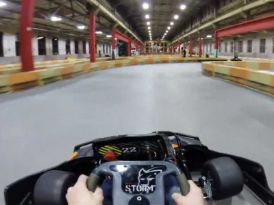Super Fun Las Vegas Go-Kart Racing