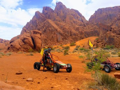 The Valley of Fire VIP ATV Tour