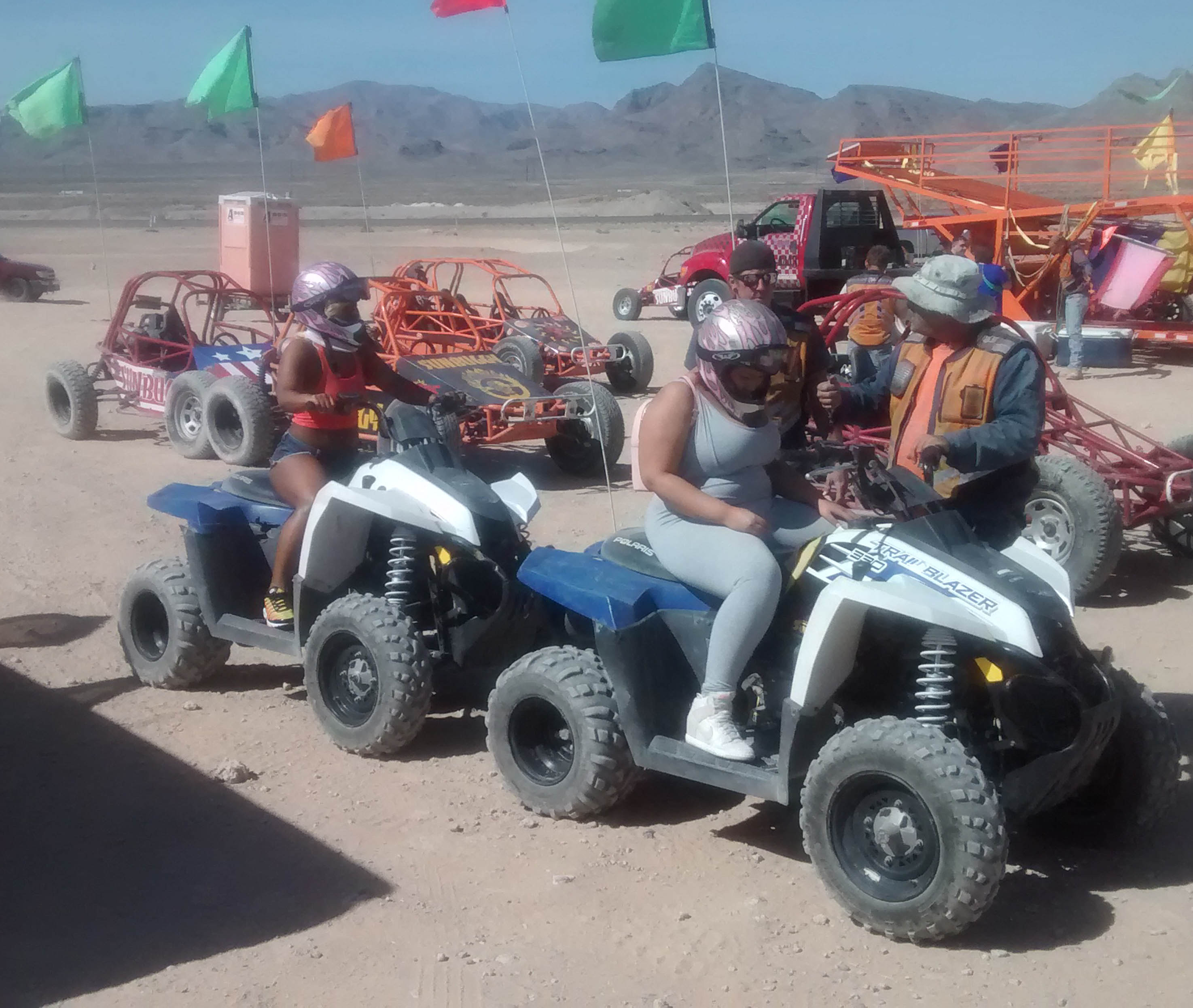 Vegas Dunes Chase and ATV Combo