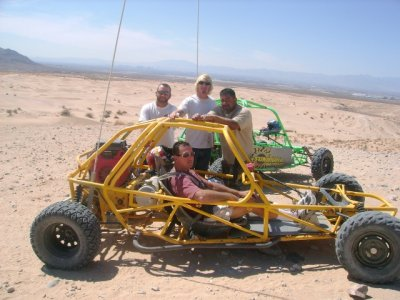 The Vegas Dunes Off Road Buggy Tour